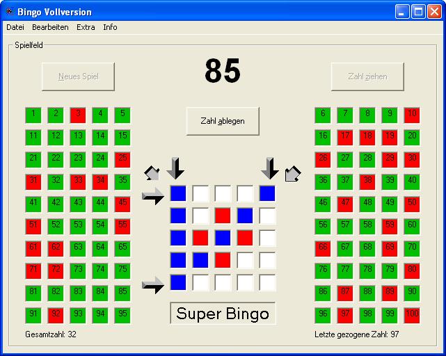 Bingo PC Spiel